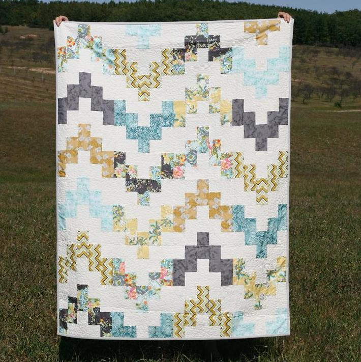 Belle Wave Lap Quilt