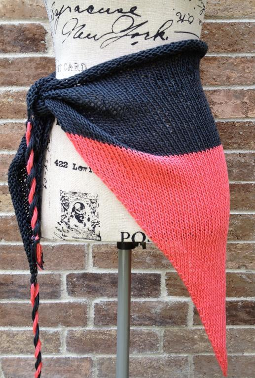 Beach Wrap (Sarong) knitting pattern