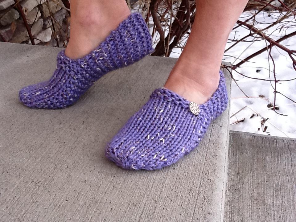 Kwiki Slippers knitting pattern
