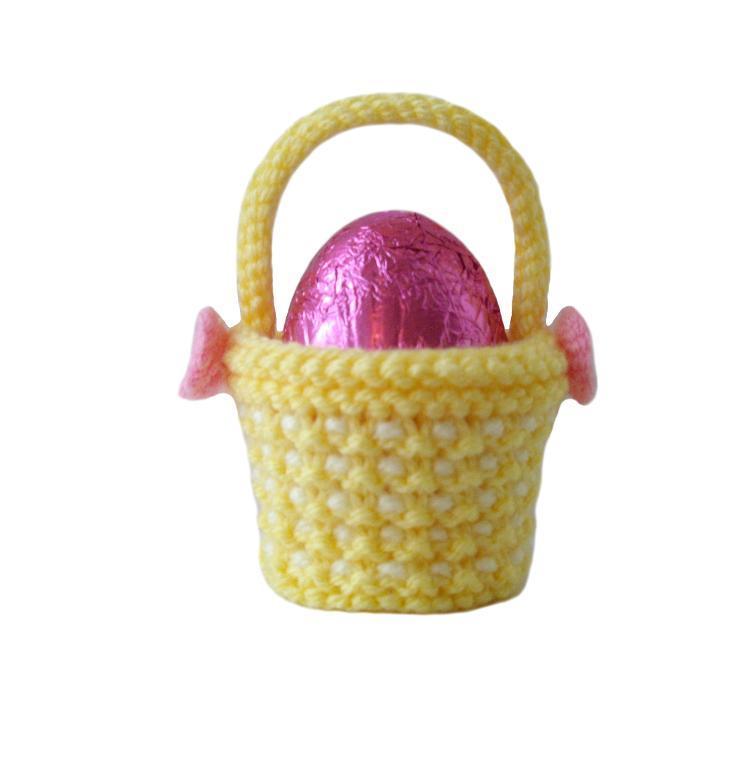 Easter Basket knitting pattern