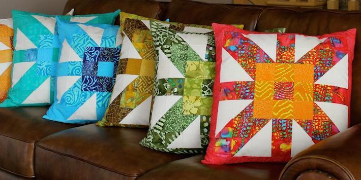 Criss-Cross Cushions