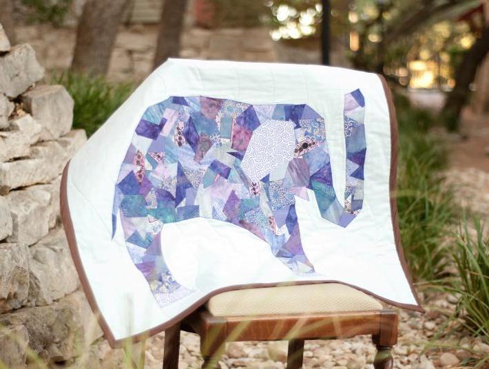 Sweet Elephant Quilt