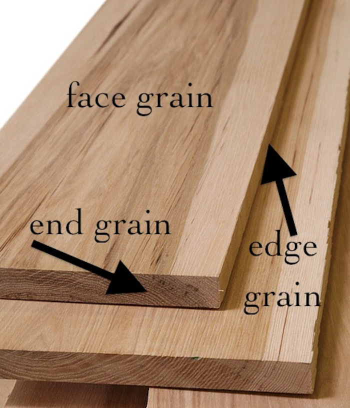 grain direction in wood