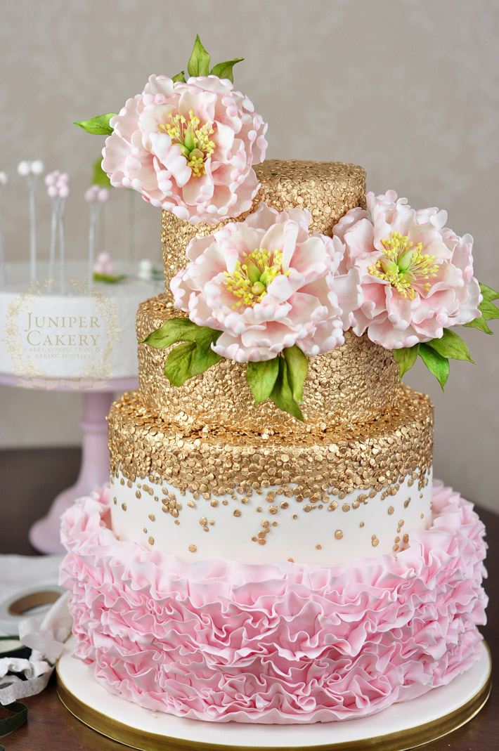 Floral cake topper tutorial