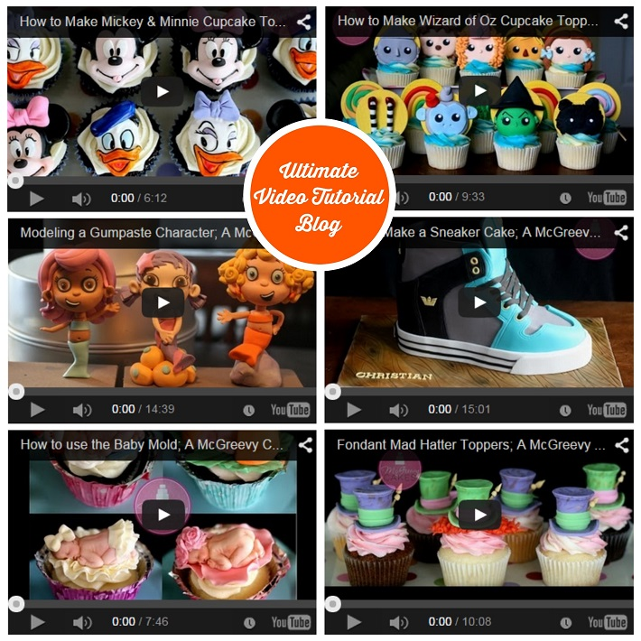 McGreevy Cakes video tutorial blog