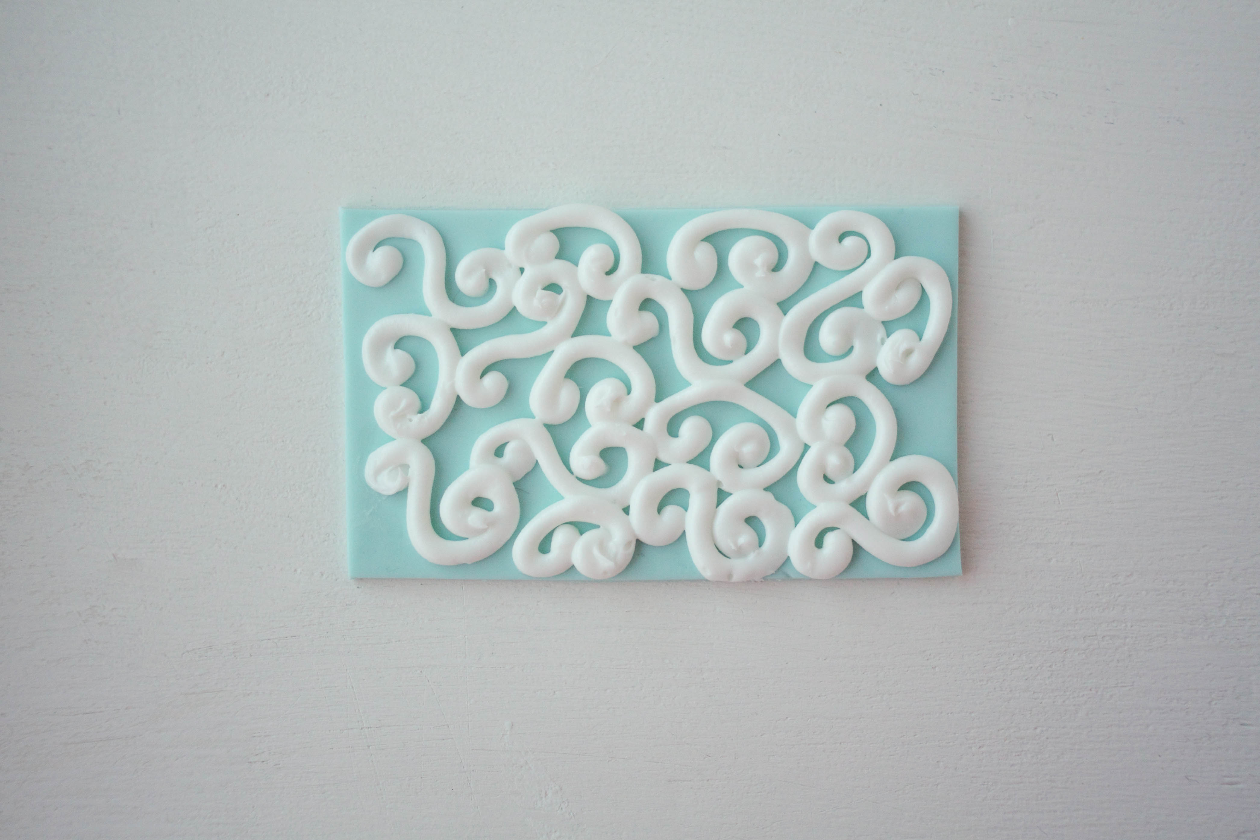 S And C Piped Scrolls | Erin Gardner