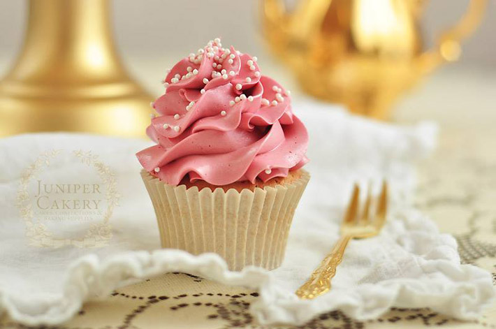Freeze fresh baked cupcakes to help keep on top of large batches