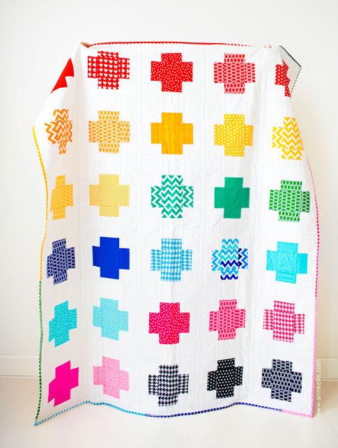 The Crossing Quilt in Ann Kelle Fabrics