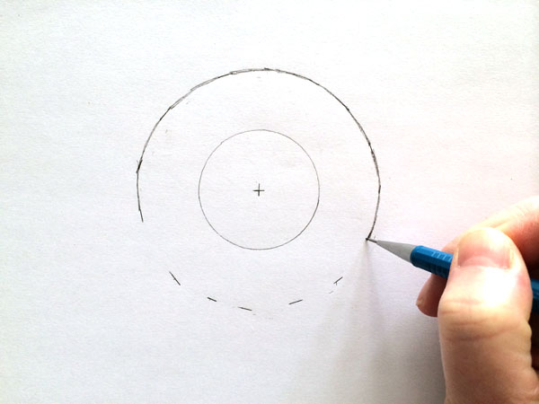 draw outer ring