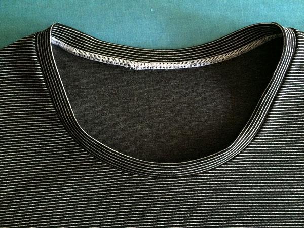 finished neck binding
