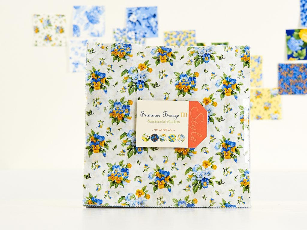 Moda Summer Breeze III by Sentimental Studios Layer Cake