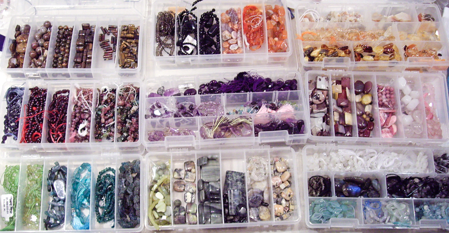 Fishing Tackle boxes for jewelry gems storage