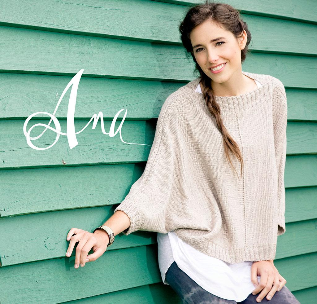 Ana Sweater knitting kit