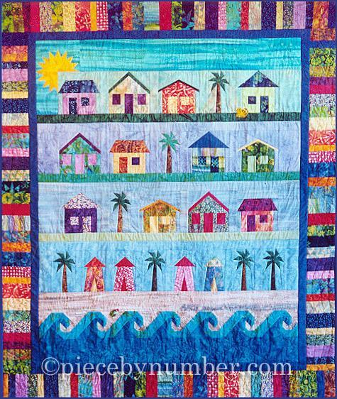 Beach Cottages Quilt Pattern