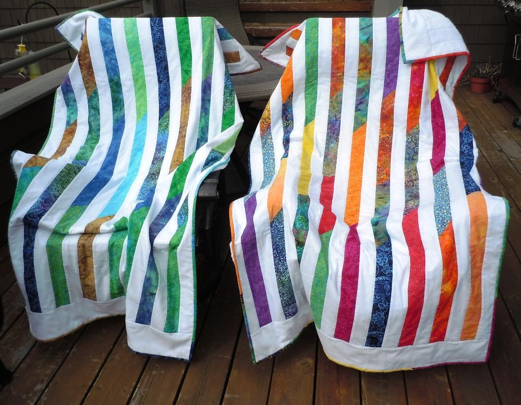 Beach Quilts Striped Pattern