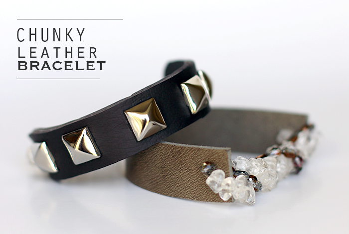 Chunky Leather Bracelet_feature