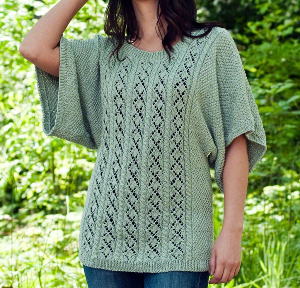 Cotton Sweater Knitting Kit