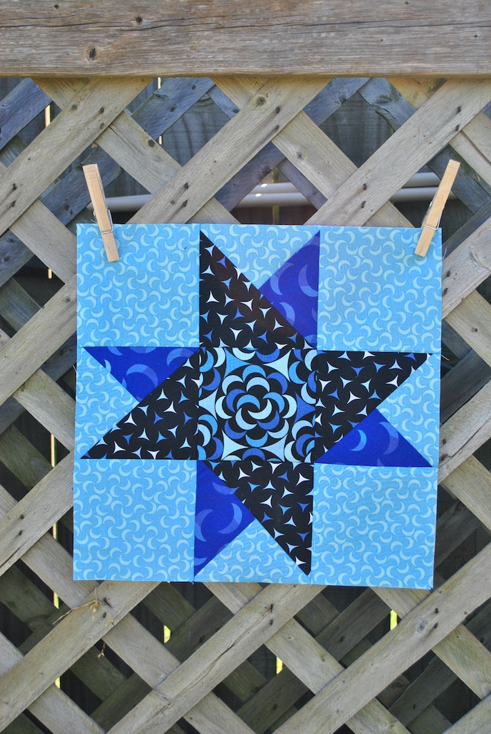 Spinning Star quilt block tutorial