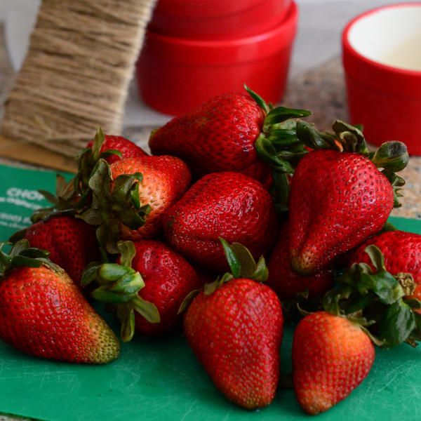 Strawberry Souffle Supplies
