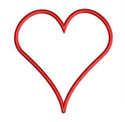 FREE Heart Applique