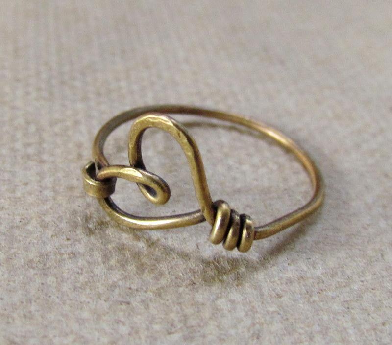 Heart ring Maro