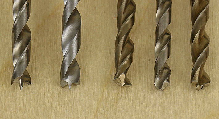woodworking drill bits