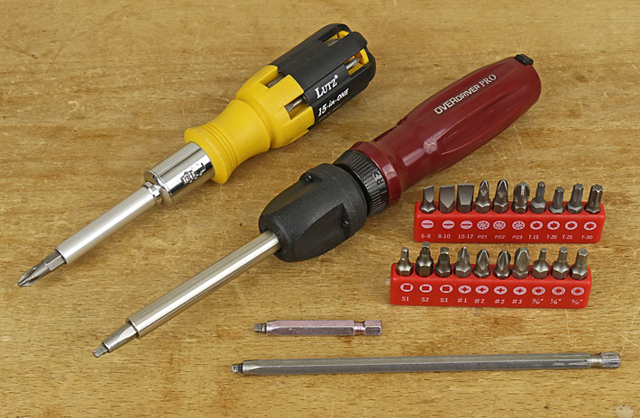 multi-tip screwdrivers