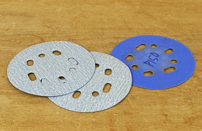 random orbit sanding discs