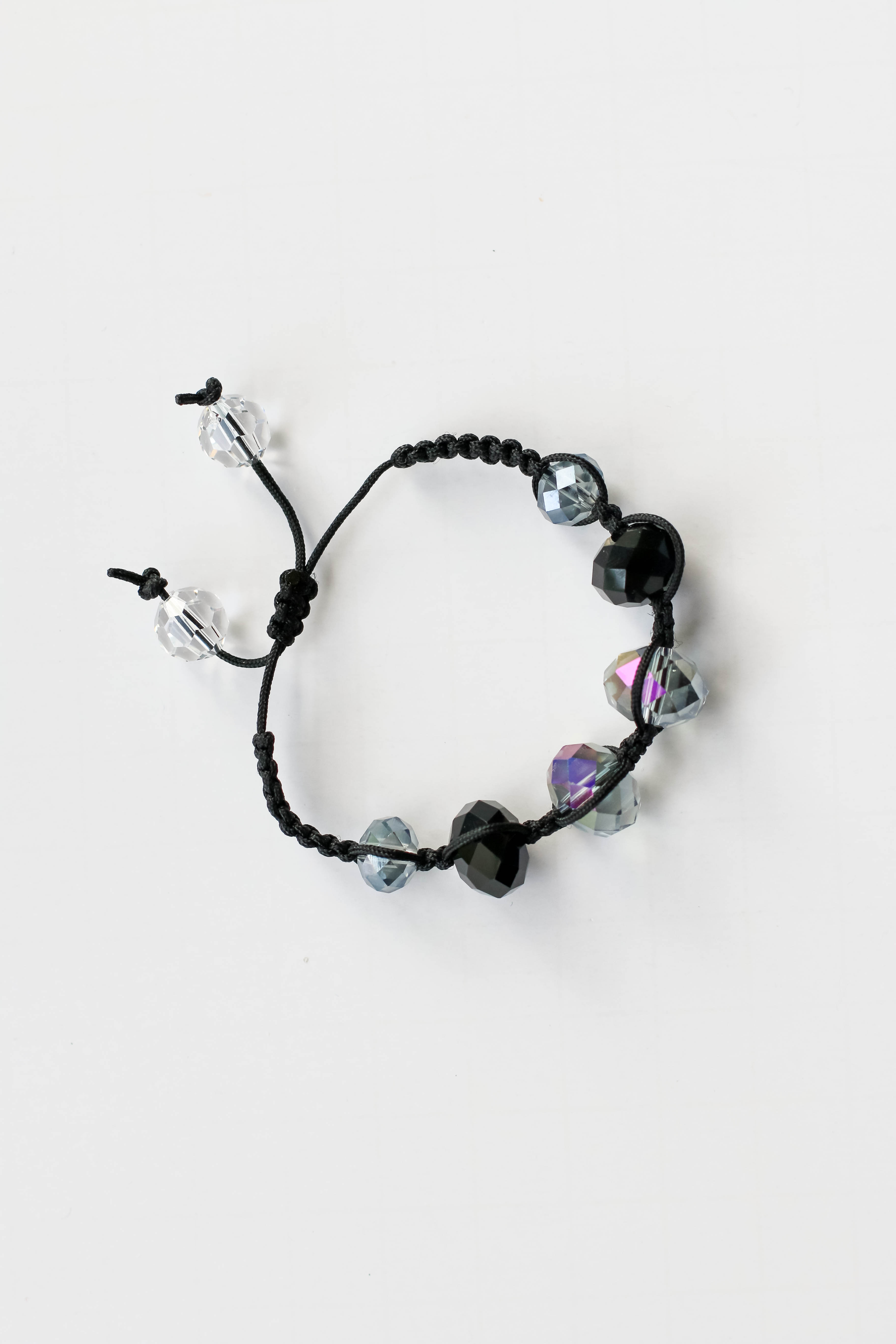 Shamballa bracelet - finished crystal bracelet