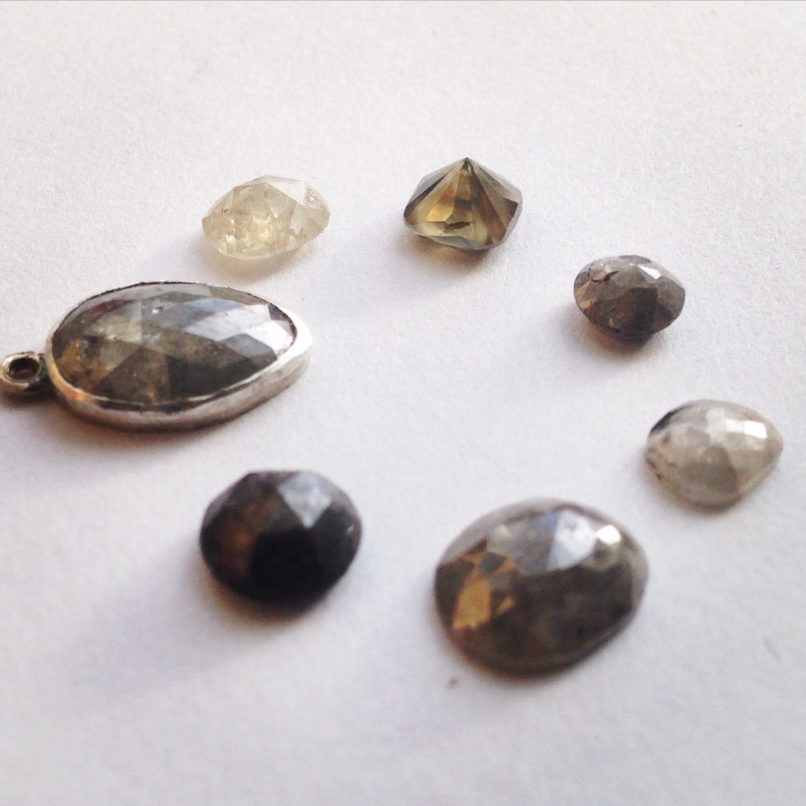 Arcatus Jewelry- Raw diamond