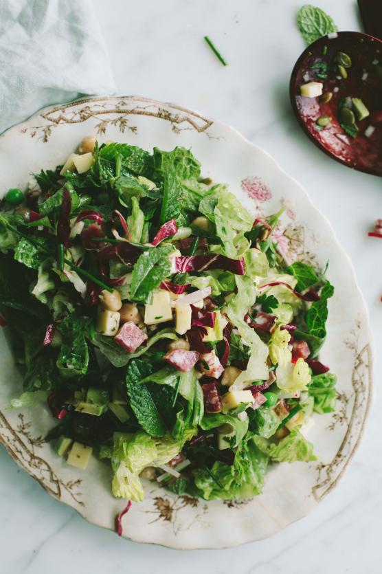 Spring Chopped Salad