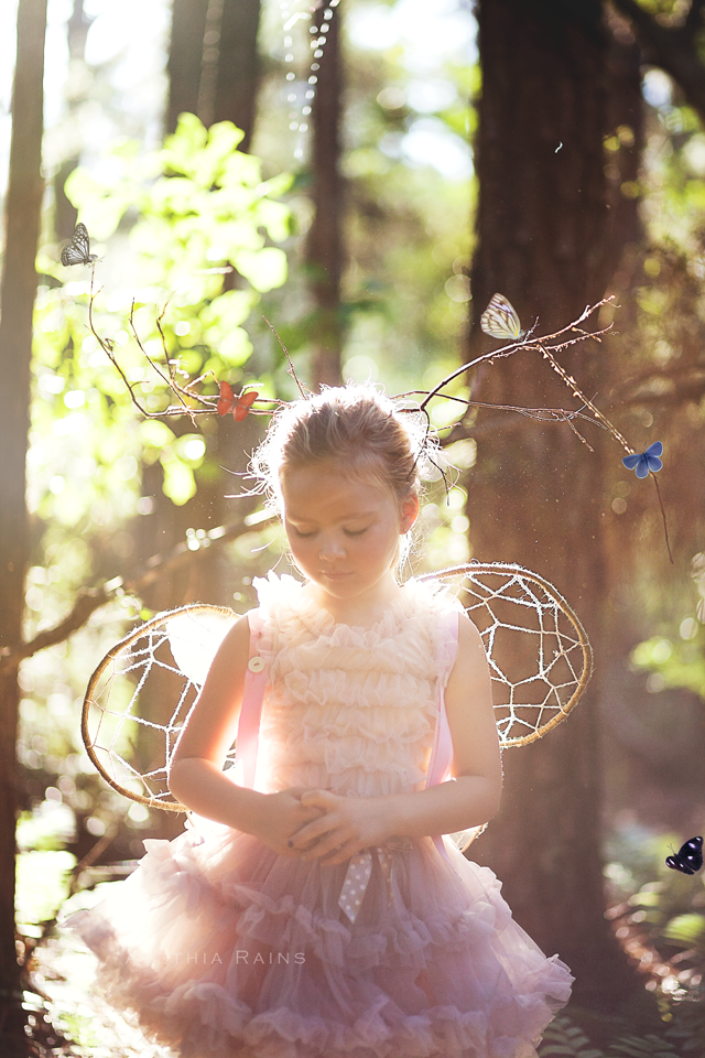 Woodland Fairy Themed Portrait