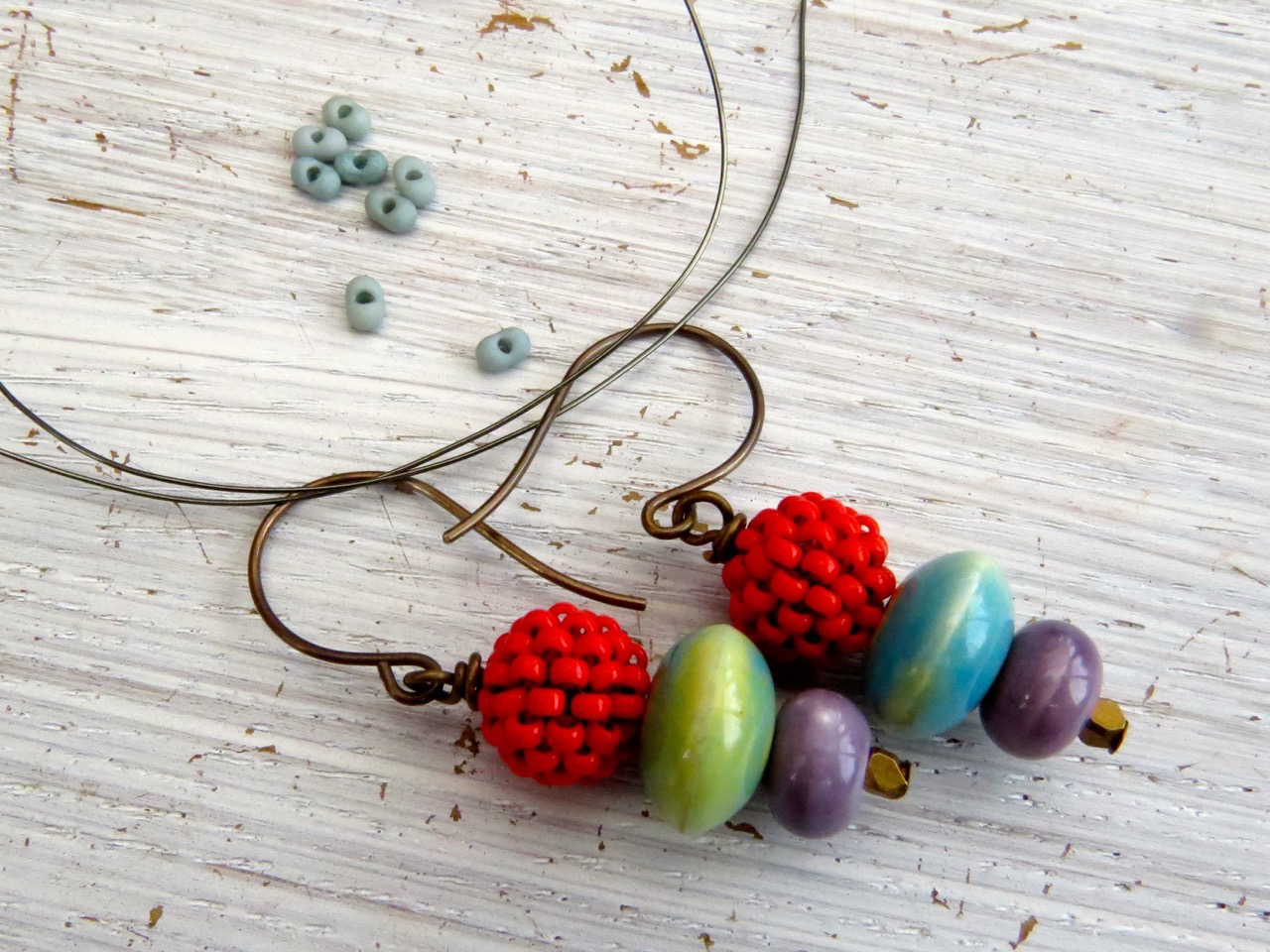 Ingredients for embellishing earwires
