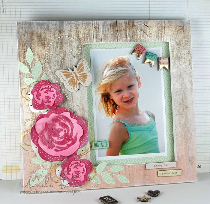 Finished DIY photo frame
