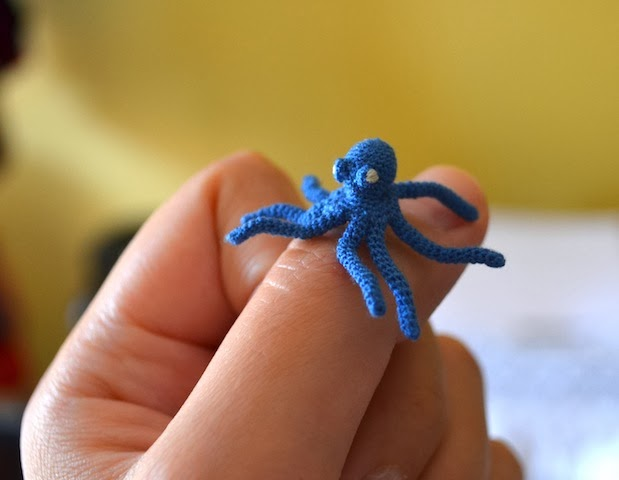 Micro Crochet Octopus