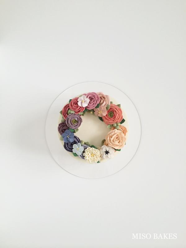 Piped Buttercream Flowers by Miso Bakes | Erin Gardner | Bluprint