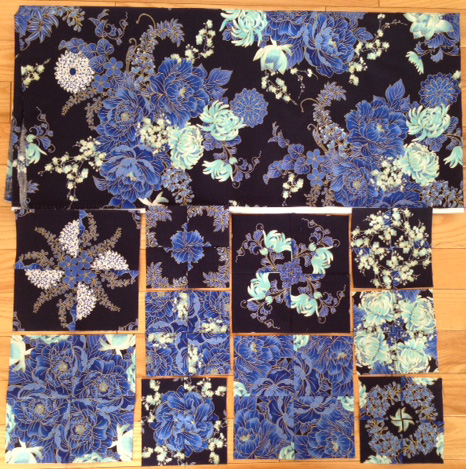 Quilt Moments 4-Patch Kaleidoscopes Imperial Blue