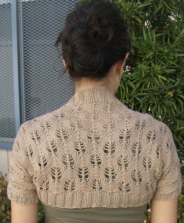 Something Lacy Cotton Yarn Shrug