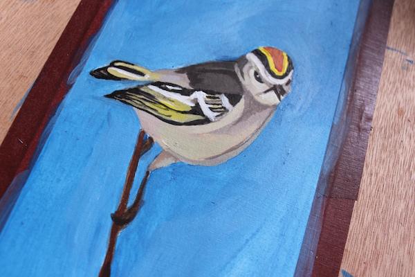 Bird final detail