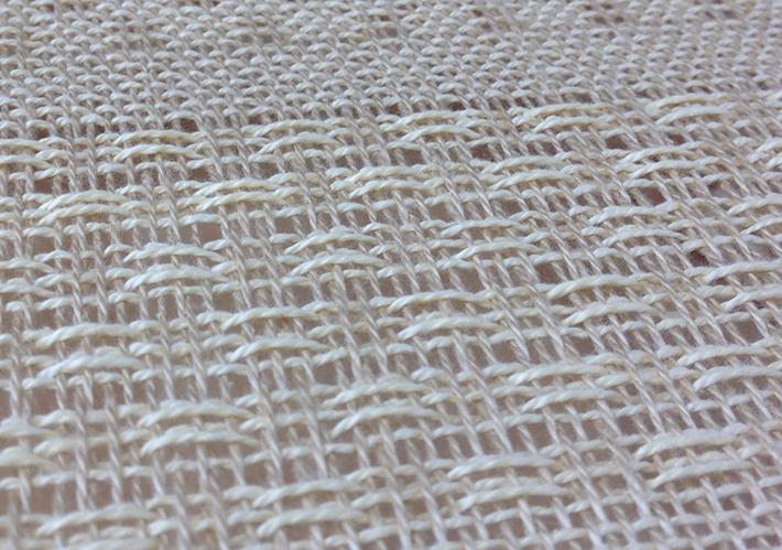 an open sett for lace