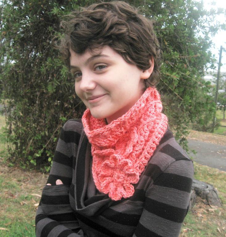 crochet cowl hat pattern