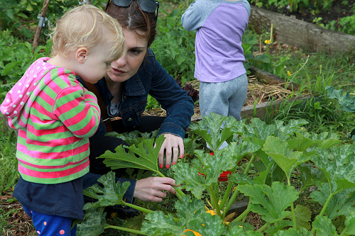Community gardens reach all generations