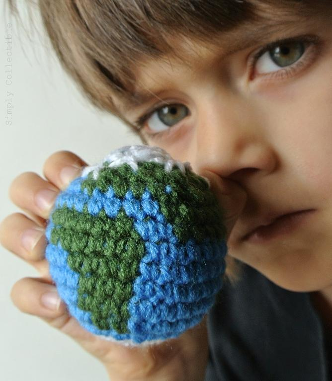 earth globe crochet pattern