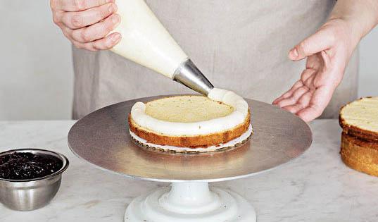 Pipe The Filing | Great Cake Decorating | Erin Gardner | Bluprint