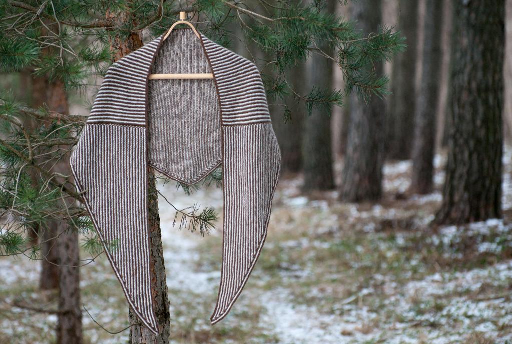 Crossroads Wrap knitting pattern