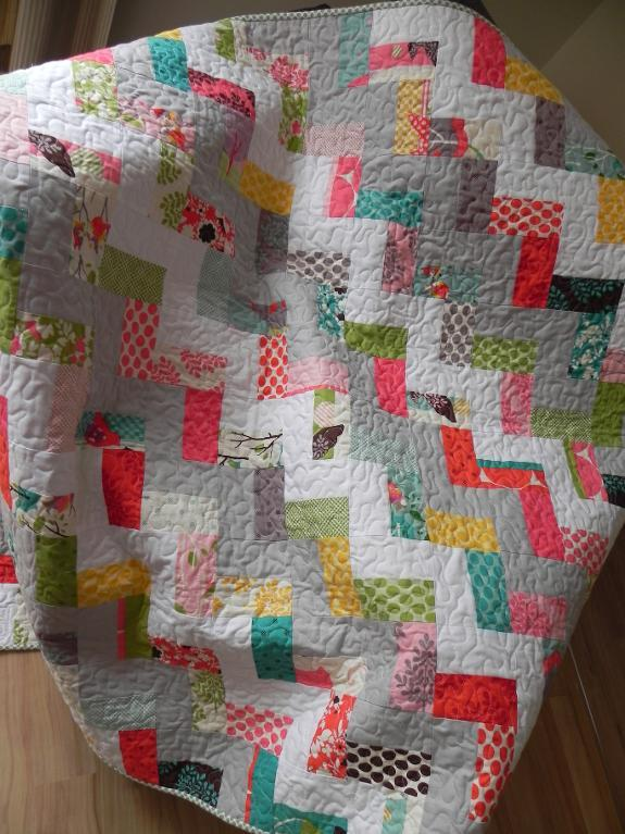 Step in Time quilt pattern