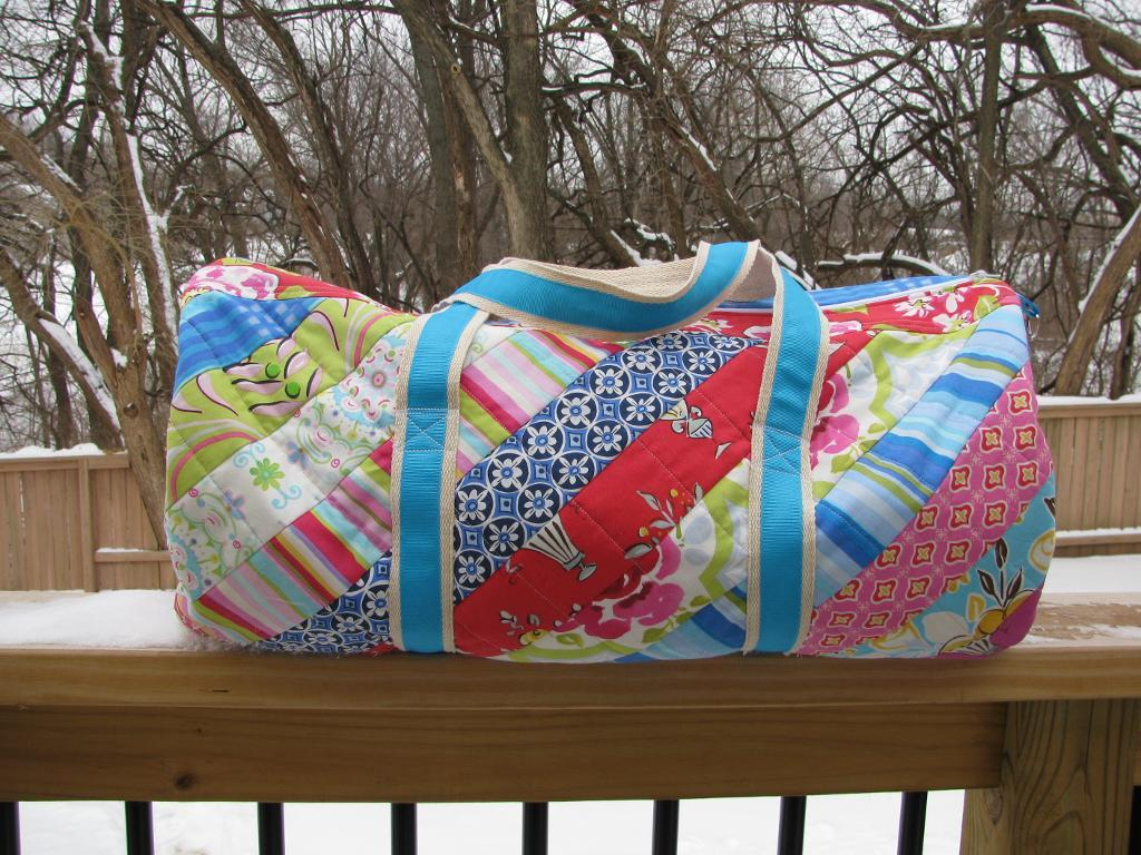 The Brooksider - A Quilted Duffel Bag