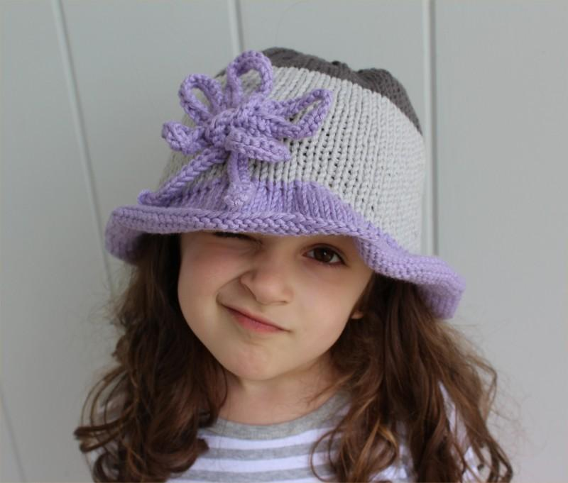Colorblock Hat knitting pattern
