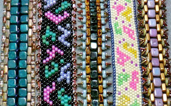 Odd Count Peyote Bracelet pattern