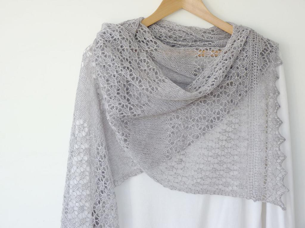 Madeline's Lace Scarf knitting pattern